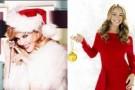 Музыкальные подарки к Рождеству от Kylie Minogue и Mariah Carey