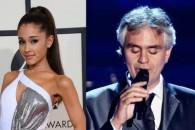 Новый клип Андреа Бочелли (Andrea Bocelli) и Арианы Гранде (Ariana Grande) — E Più Ti Penso