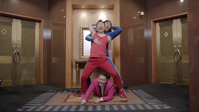 Новый клип Сая (PSY) – Gentleman