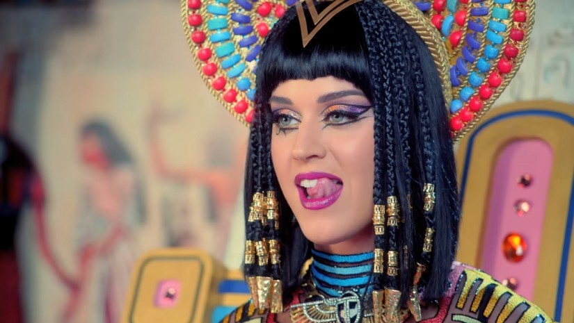 Katy Perry ft. Juicy J — Dark Horse, новый клип
