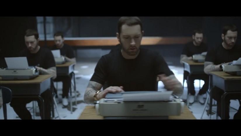 Eminem ft. Beyoncé — Walk On Water, новый клип