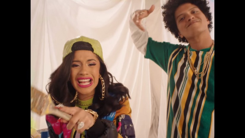 Bruno Mars Feat. Cardi B — Finesse (Remix), новый клип