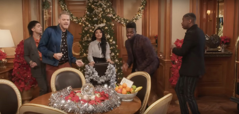 Pentatonix — Rockin' Around The Christmas Tree, новый клип