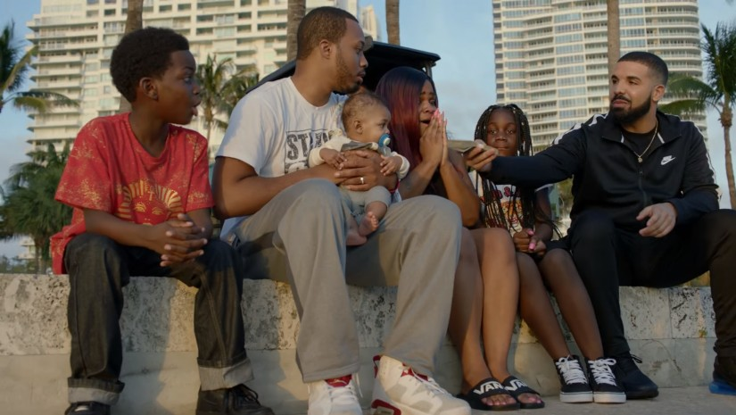 Drake — God's Plan, новый клип