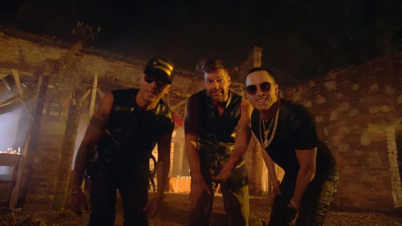 Ricky Martin — ft. Wisin, Yandel, новый клип