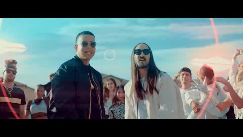 Steve Aoki, Daddy Yankee, Play N Skillz & Elvis Crespo  — Azukita, новый клип