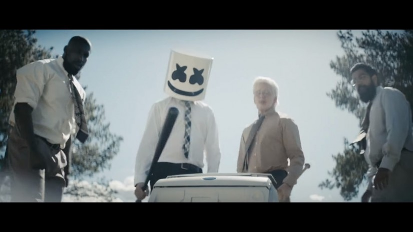 Marshmello and Logic — EVERYDAY, новый клип