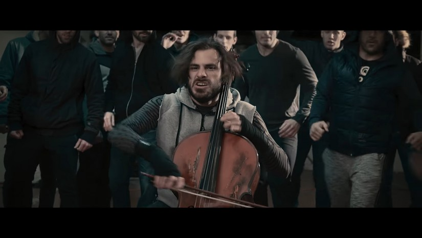 2CELLOS — Eye Of The Tiger, новый клип