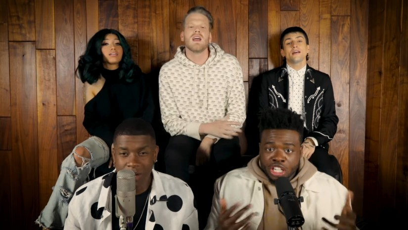 Pentatonix — Evolution of Rihanna, новый клип