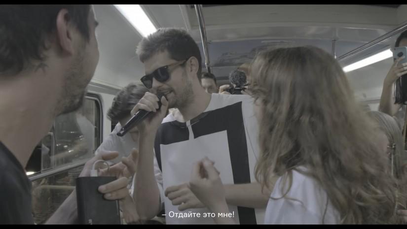 Noize MC  — Из окна (трамвай edition), новый клип 18+