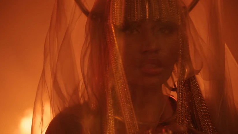 Nicki Minaj — Ganja Burn, новый клип