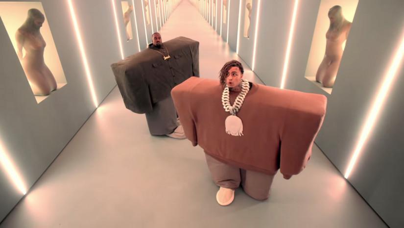 Kanye West and Lil Pump ft. Adele Givens  — I Love It, новый клип