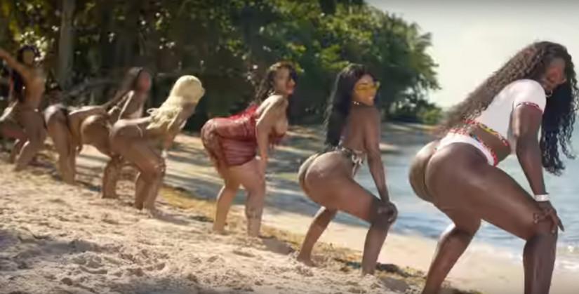 City Girls ft. Cardi B — Twerk, новый клип