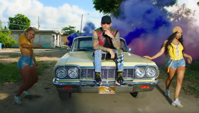 Wisin & Yandel — Chica Bombastic, новый клип