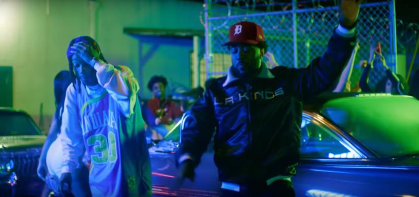 Wiz Khalifa and Curren$y ft. Problem  — Getting Loose, новый клип