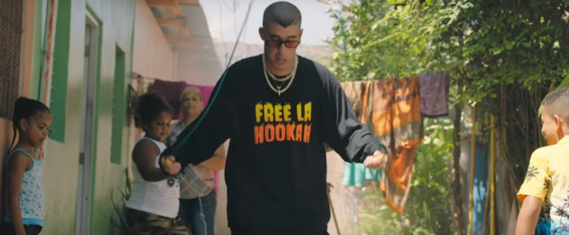 La Romana ft. El Alfa — Bad Bunny, новый клип