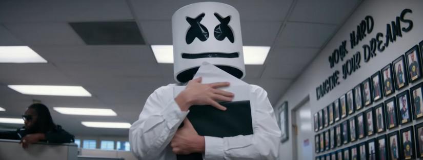 Marshmello — Imagine, новый клип