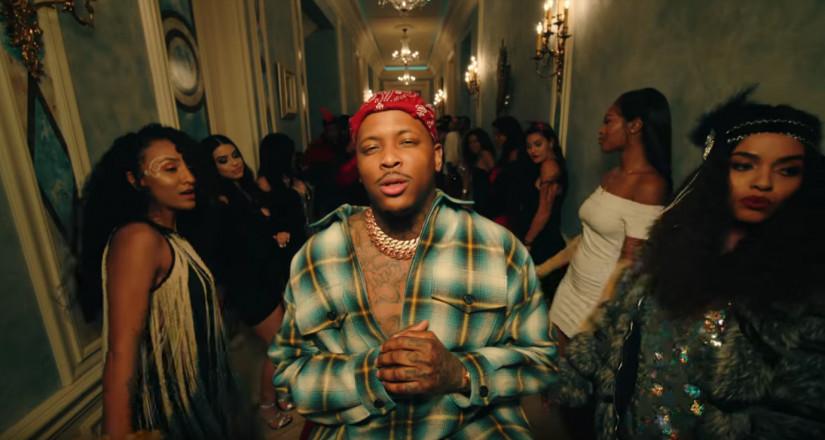 Tyga, YG and Blueface — Bop, новый клип