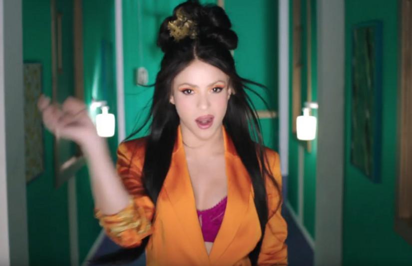 Shakira and Anuel AA — Me Gusta, новый клип