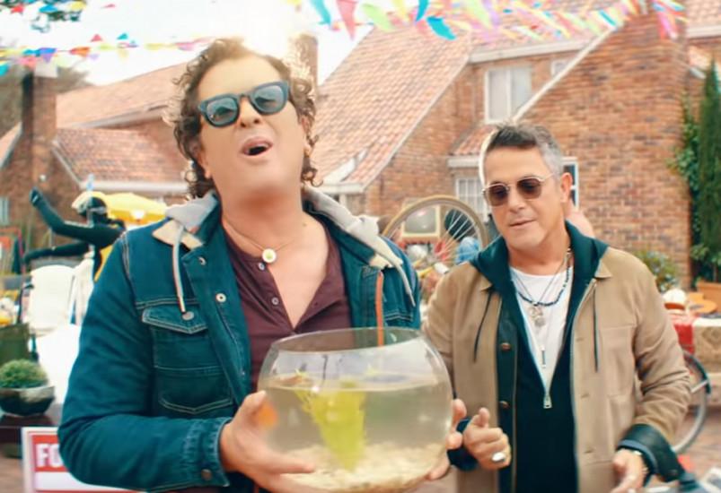 Carlos Vives and Alejandro Sanz — For Sale, новый клип