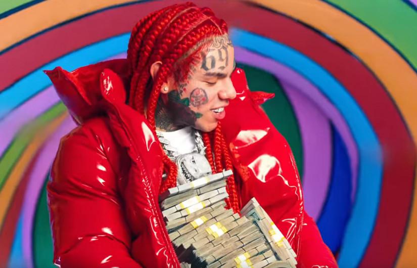 6ix9ine and Nicki Minaj — Trollz, новый клип
