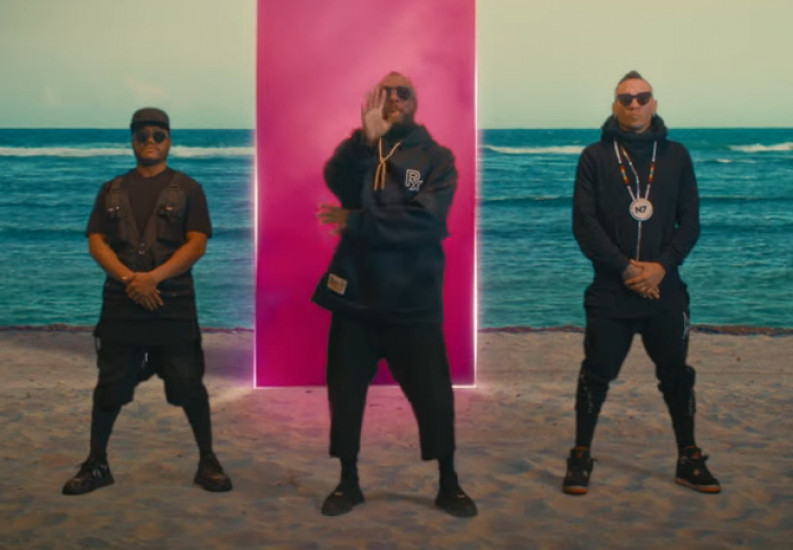 Black Eyed Peas and El Alfa — NO MAÑANA, новый клип