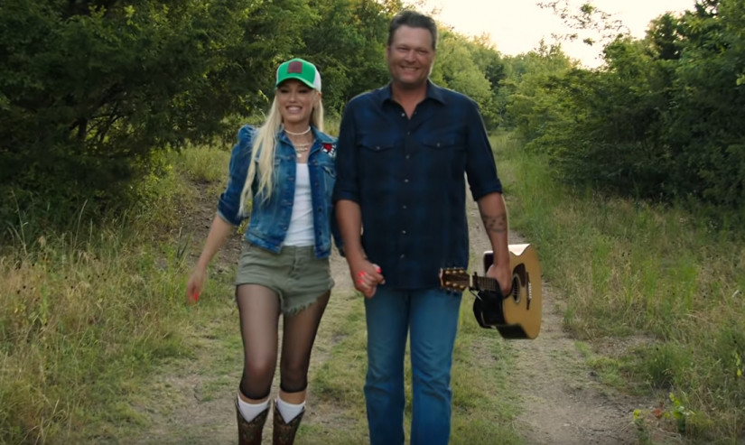 Blake Shelton feat. Gwen Stefani — Happy Anywhere, новый клип