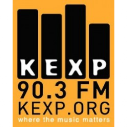 Логотип KEXP 90.3 FM - where the music matters