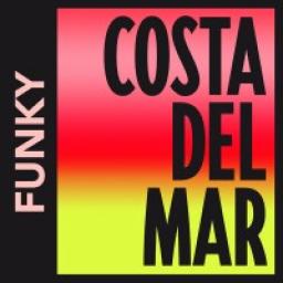 Логотип Costa Del Mar - Funky