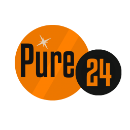 Логотип Pure 24 - European hits!