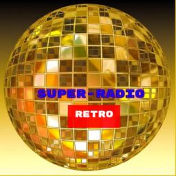 Логотип Super-Radio retro
