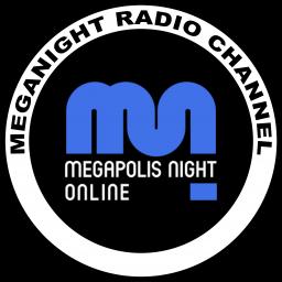 Логотип MegaNight RADIO