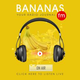 Логотип BANANAS FM