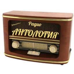Логотип Антология
