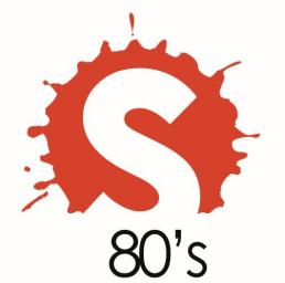 Логотип Splash 80s