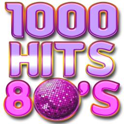 Логотип 1000 HITS 80s